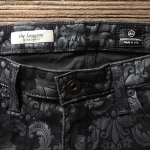 Ag Adriano Goldschmied Jeans - AG | the Legging Super Skinny Printed Jean